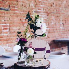 Centre de table pour le mariage de F&C 👰 Lily et Confettis 🌵