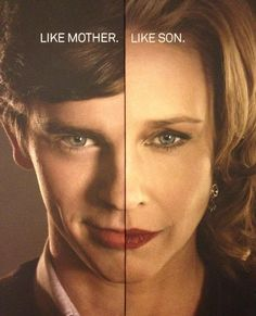 Norman and Norma- Bates Motel Norman Bates, Freddie Highmore Bates Motel, Bates Hotel, Bates Motel Season 4, Que Horror, Vera Farmiga, Boy Best Friend, Bates Family, Divas