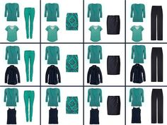 The Vivienne Files - but I love teal and navy too! What's a girl to do?