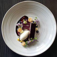 Blueberry Cheesecake and Sour Cream Ice Cream