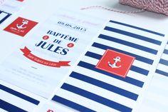 Faire-part marin | Le Comptoir du Bonheur by Vincelie