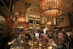 The Rock Shop in the Fuse-designed Hard Rock Cafe, Florence, completed in 2011 in the Piazza della Repubblica within the former Cinema Gambrinus building.  See the case study at: http://www.fuse-studios.com/2011/07/hard-rock-florence/