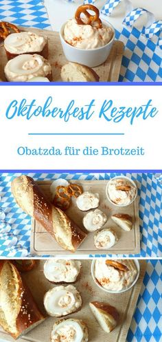 The Oktoberfest is coming - what's better than a Obatzda recipe? Super easy and I'll show yo German Oktoberfest, Oktoberfest Food, Snack Mix Recipes, Yummy Snacks, Yummy Recipes, Health Pictures, Finger Foods, Main Dishes, Party