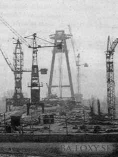 Najnovšie obrázky - Stavba Nového mosta - Pohľady na Bratislavu Bratislava, Old City, Shades Of Grey, Black And White Photography, Times, Inspiration, City, Pictures, History