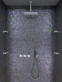 Vola shower set and casamood tiles. zoou ook sicis kunnen zijn | verkrijgbaar via mozaiek utrecht