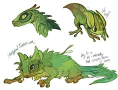 Leaf Critters by Shantyland on DeviantArt