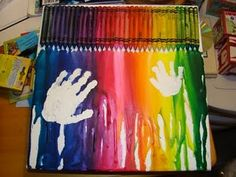 @Tracy Hefley you should add your daycare  handprints to your canvas.