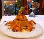 Mofongo with Shrimp