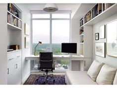 Modern Small Office Designs modern small office Modern Home Office Found On Zillow Digs