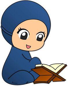 Gambar Kartun Comel Berunsur Islam Allah Islam Pinterest