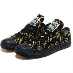 9594d5e578cc All Star Chucks Converse Batman DC Comics Low Top Shoes Black hot 2015