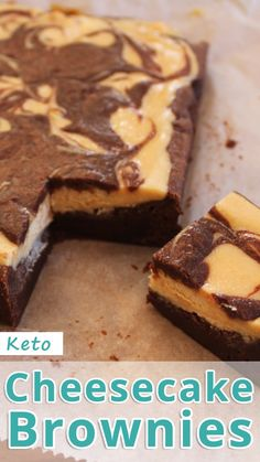 Keto Cheesecake Brownies Recommended Tips - Keto Brownies - Ideas of Keto Brownies - This cheesecake brownie recipe is for people on the keto diet or anyone with a sweet tooth for that matter. Keto Cheesecake Brownies You must try this recipe. Cheesecake Brownies, Keto Cheesecake, Cheese Brownies, Healthy Cheesecake Recipes, Cheese Cookies, Keto Cookies, Chocolate Cheesecake, Keto Desserts, Cheesecake