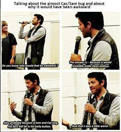 Hahaha - supernatural: