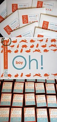 oh boy baby shower invitations