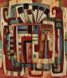 Yei: Creating (oil on canvas)  by Tony Abeyta