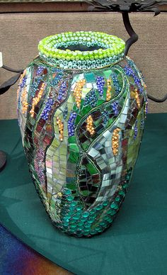 Garden Vase 1 | by Virginia Mosaics