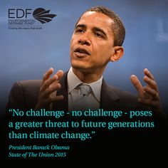 Yet again, President Barack Obama talked about the need for climate action in his State of the Union address. 2014 was the hottest year on record. Save Our Earth, Save The Planet, Greatest Presidents, Climate Action, New Law, State Of The Union, Motivational Phrases, Environmental Issues, Inspire Others