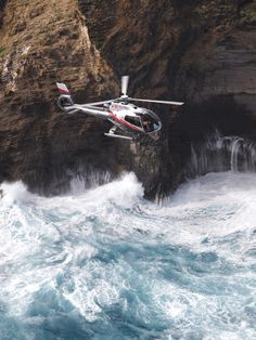 Maverick Helicopters offer 3 different tours of Maui & Molokai. Daily flights.