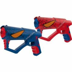 Buy Spider-Man Movie Laser Guns at Argos.co.uk - Your Online Shop for Marvel toys, Action toys and blasters.