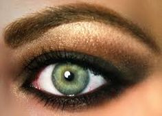 Image result for silver smokey eyes for green eyes