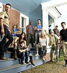 The Walking Dead - Main cast, beginning of season 2