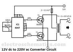 12v To 240v Inverter Circuit Diagram on wiring diagram for inverter