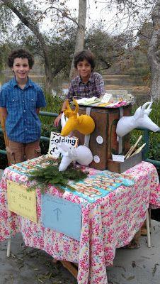 Living Charlotte Mason in California: Handicraft Fair December 2012