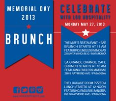 Memorial Day Brunch #lagrandeorangecafe