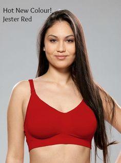 83ca358cbcceb Beautiful New colour in the Bravado Body Silk Seamless Nursing Bra - Jester  Red Nursing Bras
