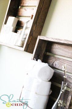 bathroom? shelves