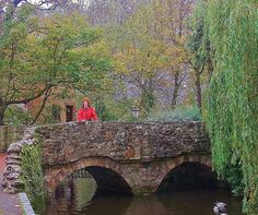 THE OLD BRIDGE AT MILL PLACE WATERMILL - JPG Photos