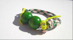 Cuerda, bolas de madera..  www.byclaratorres.com