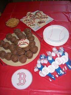 Carters Baseball Birthday Cake!