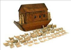 vintage noah's ark toy - Bing Images