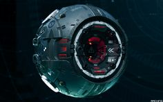 ArtStation - The Probe (addendum), . MACHINƎ .