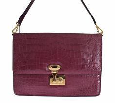 Dolce & Gabbana Miss Linda Bag Absolutely stunning brand new with tags, Authentic Miss Linda shoulder bag from Dolce & Gabbana. This amazing bag is Crocodile, Purses And Bags, Brand New, Shoulder Bag, Handbags, Shoe Bag, Luxury, Purple, Lady