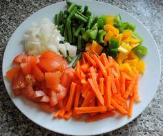 Vegetable Kothu Parotta / Minced Flaky Paratha with Vegetables ...
