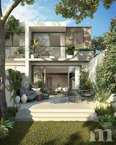 The Pavilions Freshwater - 184 Wyndora Avenue, Freshwater, NSW 2096 Modern Exterior House Designs, Dream House Exterior, Modern House Design, Exterior Design, Small Modern Houses, Japanese Modern House, Modern House Facades, Contemporary Houses, Minimalist House Design