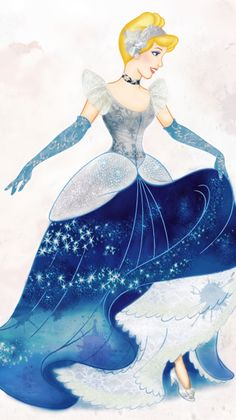 Cinderella (Art by Cyndy Bohonovsky)