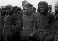 German POWs captured by the Soviets during the offensive to break the Leningrad blockade, Jan 22, 1944. German forces, stretched thin, without provisions, and under constant attack, buckled after two weeks of bitter winter fighting.