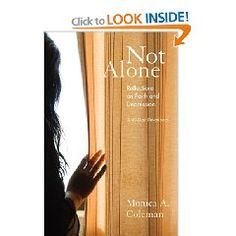 From Amazon:  The author speaks from the heart as minister, woman, friend, professional, and person who lives with depression. This 40-day devotional offers a tool that guides the reader back to faith through personal exploration and experiences of strength, hope, love and spirit.