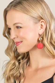 Carlee Bauble Drop Earrings | Francesca's