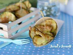 Chips+di+zucchine+fritte