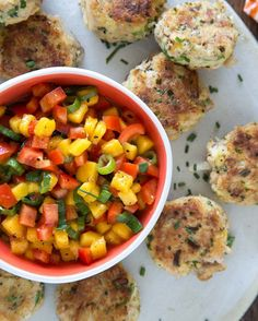 Eat Al Fresco with these Mini Crab Cakes from What's Gaby Cooking | Farmer's Garden® by Vlasic®