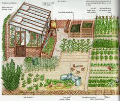 самодостаточный огород