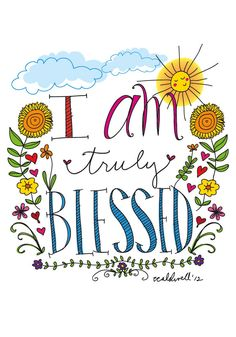 Yes, I am. I got shoes on my feet, roof over my head, cloths on my back, hair on my head, ears that can hear, eyes that can see, and legs that can walk. and the list goes on. I have been truly blessed!!