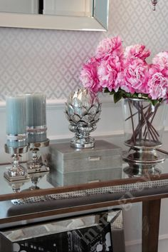 MINT GREY New York Style Interiors | produkty - dodatki; Dekoracja KARCZOCH; Silver Artichoke