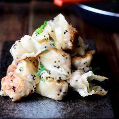 Pan-fried Wonton – China Sichuan Food