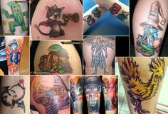 Final Fantasy Tattoos :D