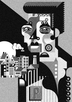 Selected Illustration 2012 by Jonny Wan, via Behance